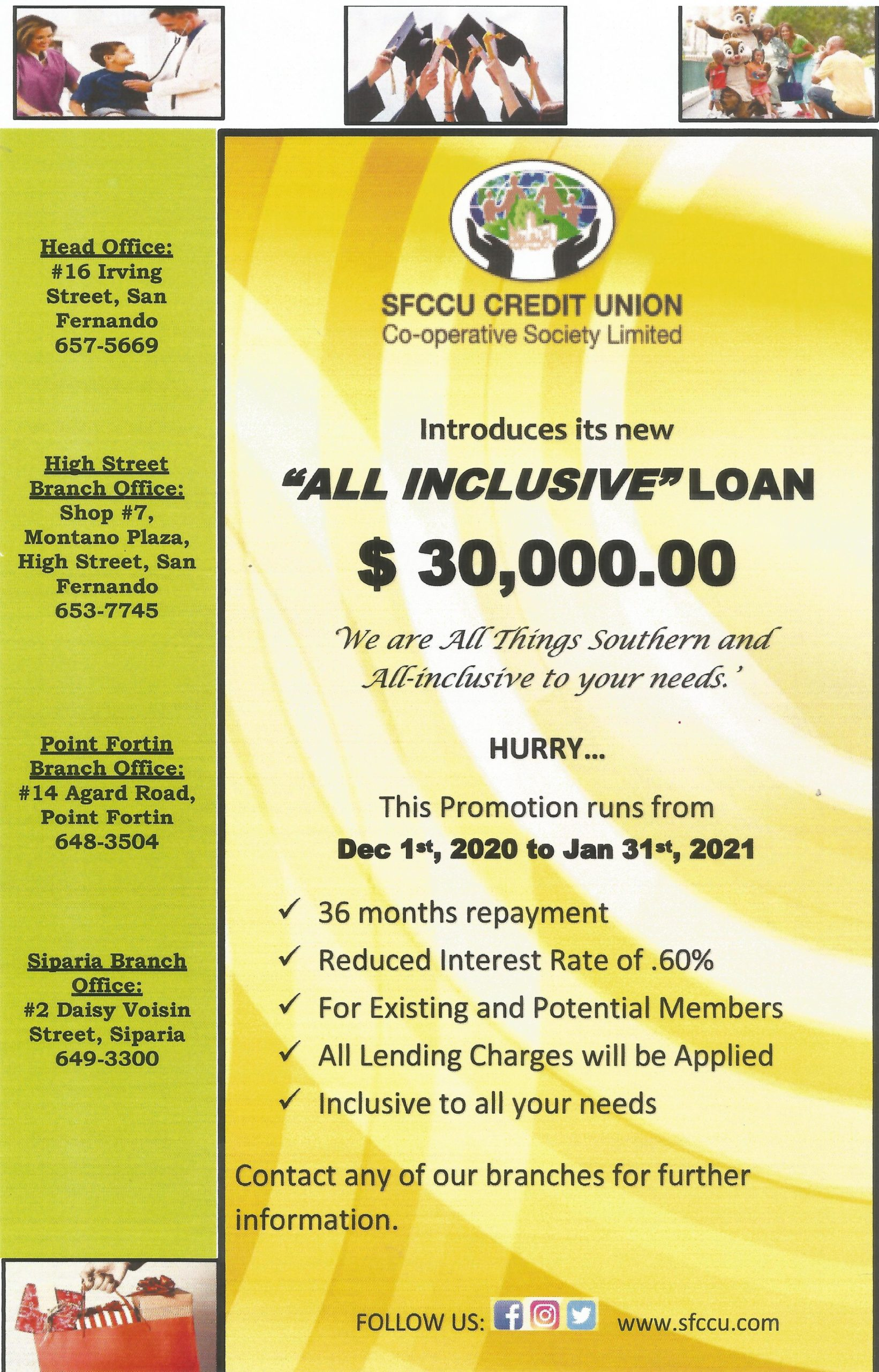 All inclusive loan flyer jpeg
