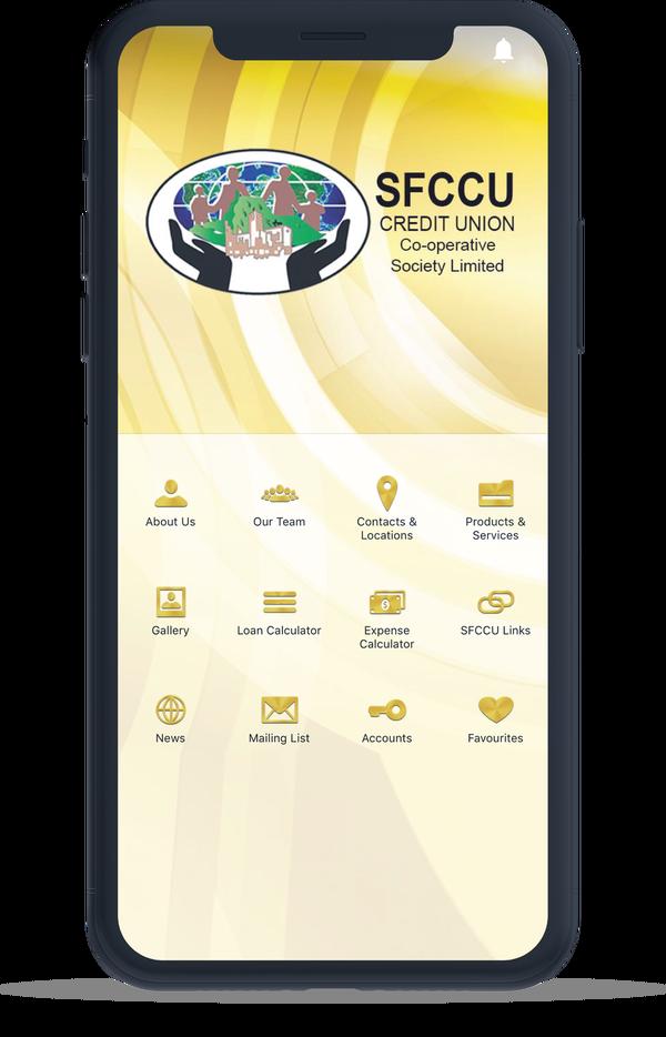 SFCCU Credit Union Mobile App